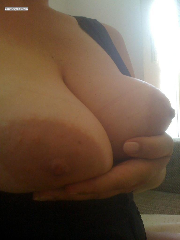 Tit Flash: My Big Tits (Selfie) - GERman from Germany